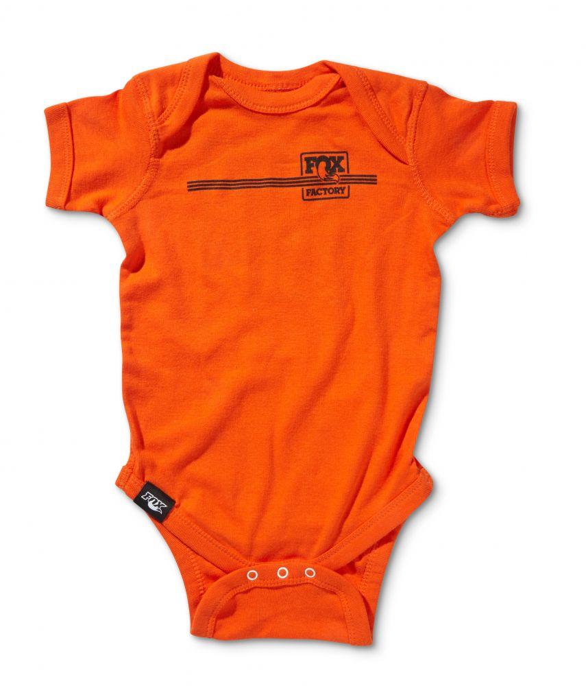 FOX Heritage Infant Onsie 100% Cotton Orange 12 Months