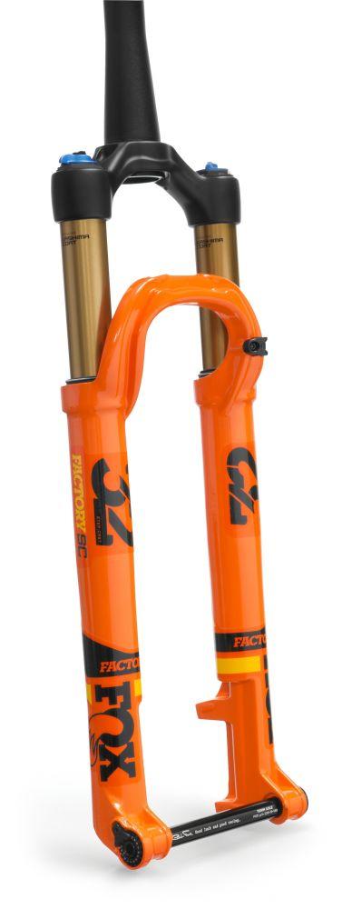 2018 32 K FLOAT SC 29in F-S 100 3Pos-Adj FIT4 Shiny Orange BLK/Yellow Logo Kabolt 110 BLK 1.5 T 44mm Rake Matte Blk AM