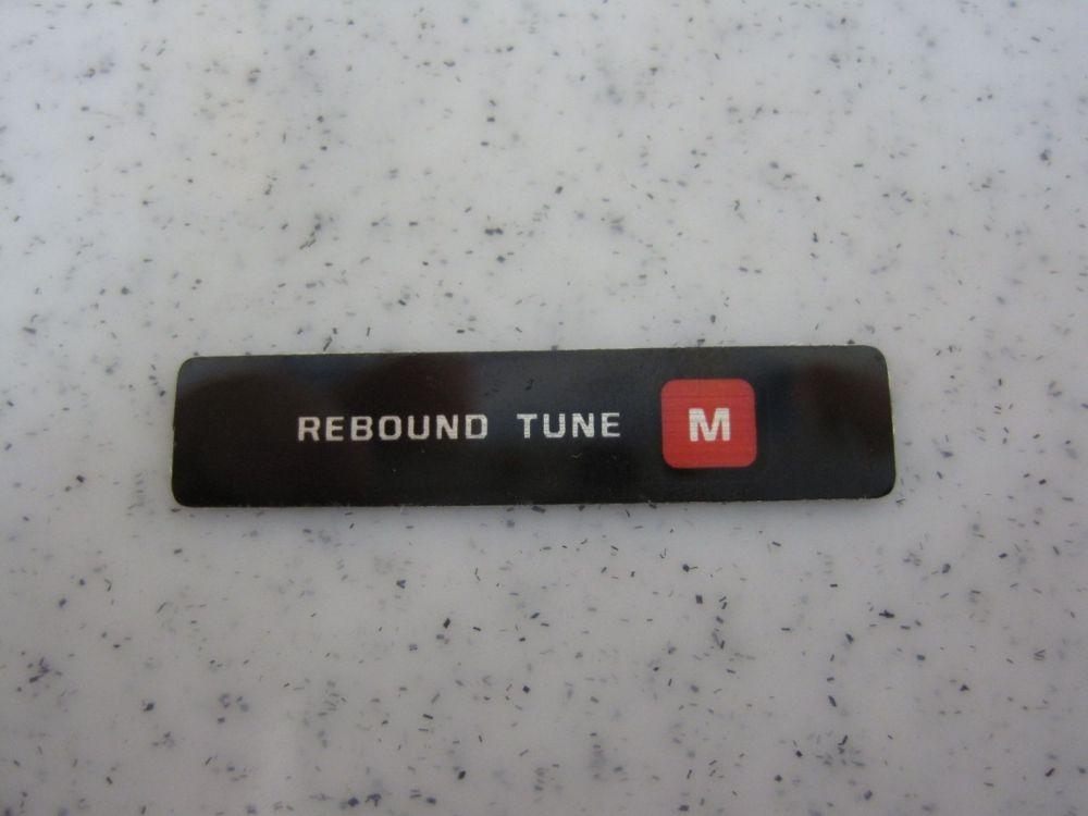 Decal: Rebound Tune Medium
