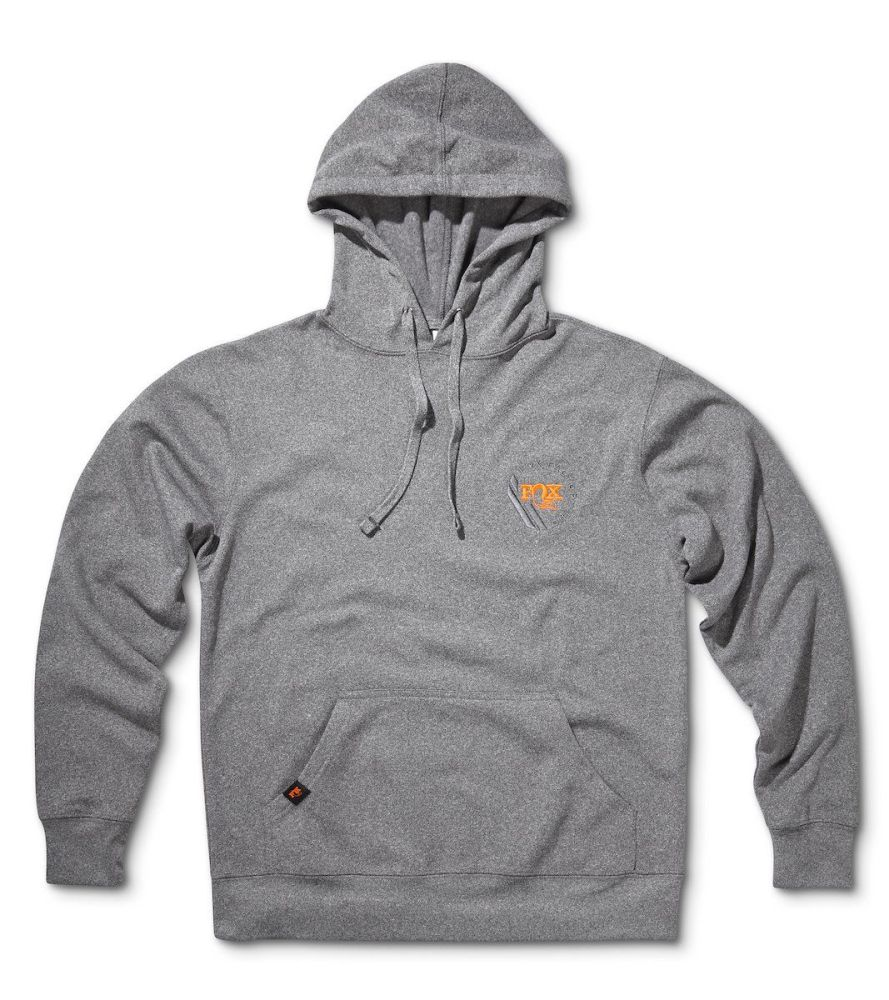 FOX Racer Hoody 100% Poly Gunmetal Heather