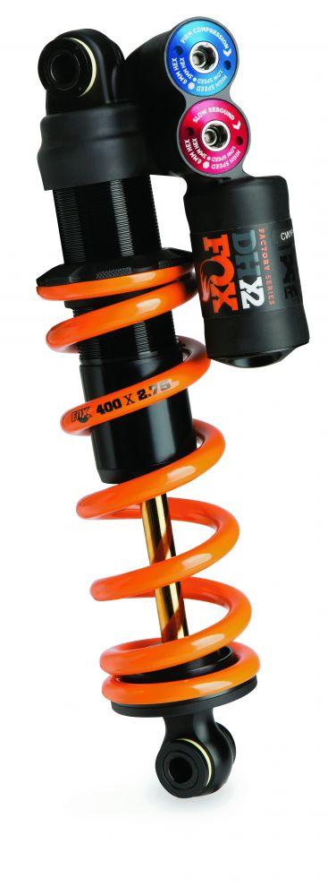 2017 DHX2 FS TiN HSC LSC HSR LSR FOX AM 241-76 9.5 3.0 CF Orange Logo