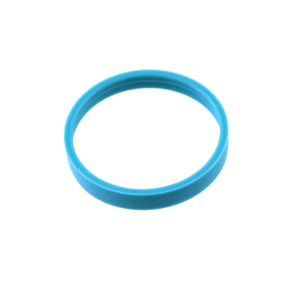 Bearing: External (0.136 W X 0.942 OD X 0.031 TH, Ø 0.940 Bore) Turcon, Blue, Ring
