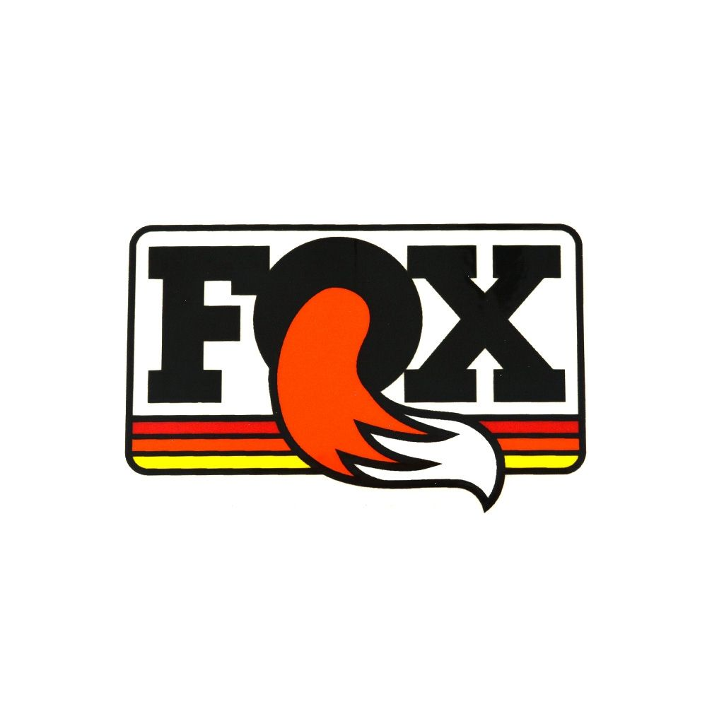 FOX Decal Heritage 3.5in