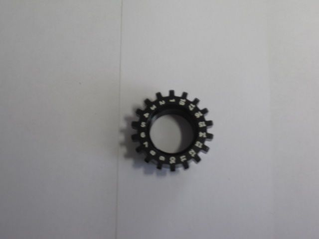 Fastener, Custom: 09,15 QR Axle Nut, 8° Camfer
