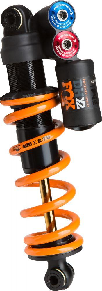 2019 DHX2 F-S TiN HSC LSC HSR LSR FOX AM 267-89 | 10.500-3.500 CL Orange Logo