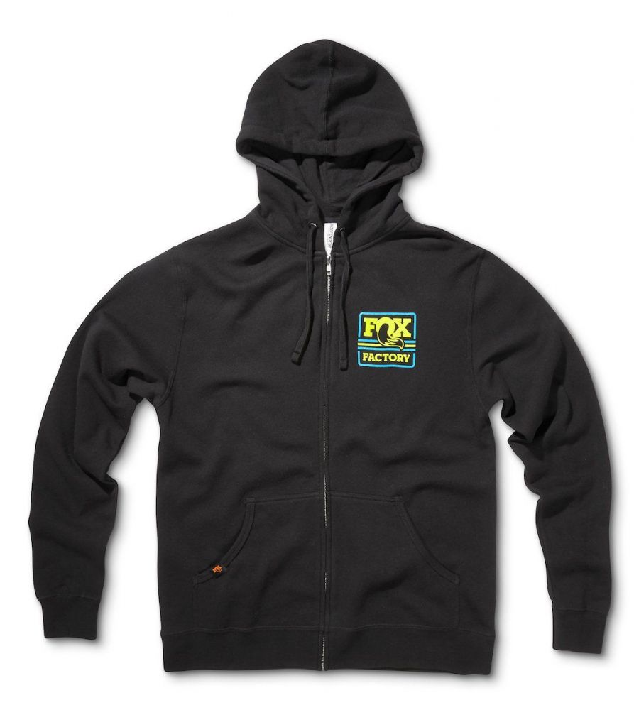 FOX  Throwback Hoody 60% Cotton/40% Poly Black